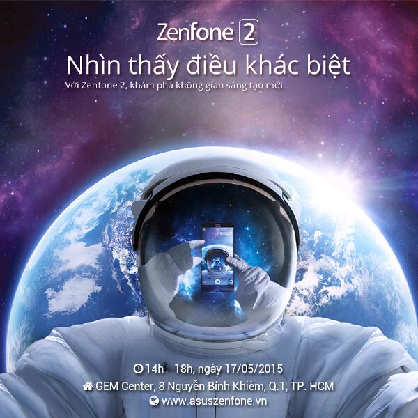"""ASUS trân trọng mời bạn tham dự buổi offline """"ASUS ZenFone 2: Nhìn thấy điều khác biệt"""" - 72322"""
