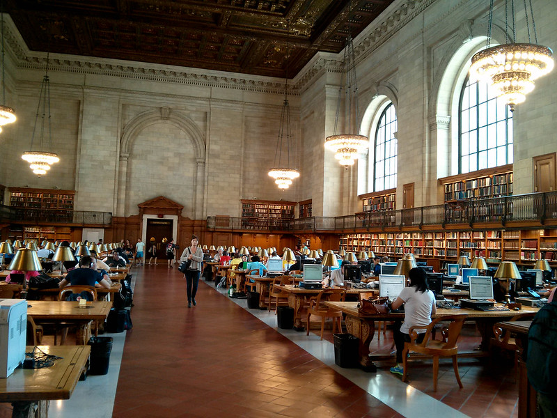 New York City Library | packmeto.com