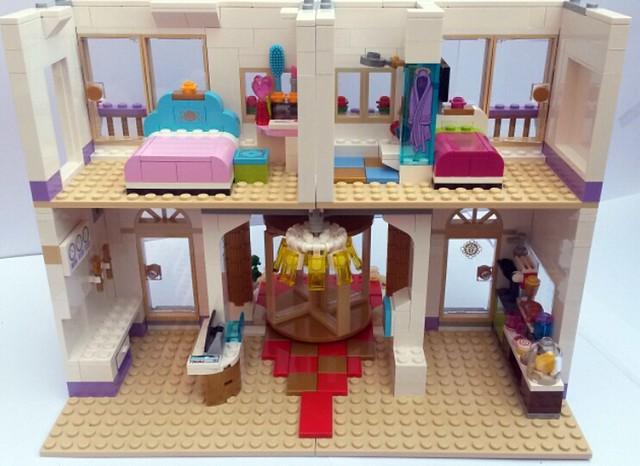 Lego Friends 41101 Heartlake Grand Hotel Review Brickset Lego Set