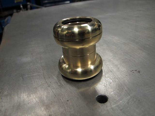 Handmade Brass Headset