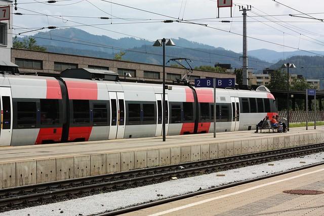 [152/365] Regionalzug nach Friesach | Leoben Hbf