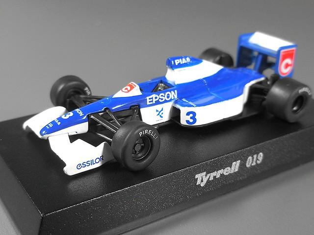 Tyrrell 019 (Satoru Nakajima) 1990