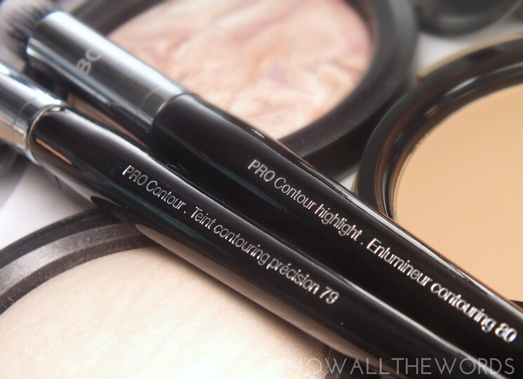 sephora colletionbrushes  pro contour #79 & pro contour highlight #80 (3)