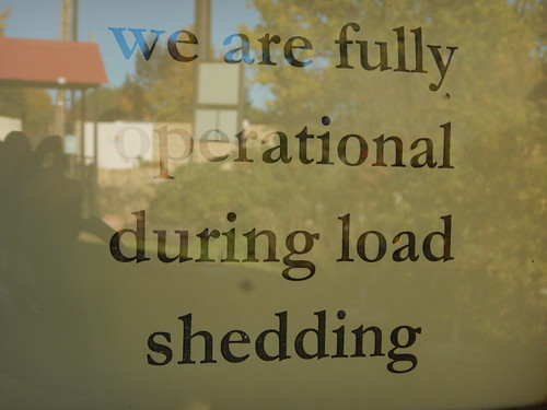 Load Shedding in Clarens
