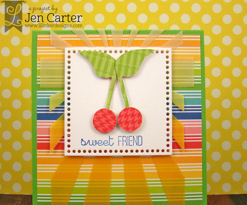 Jen Carter Cherry Sweet Friend Stork Closeup 2