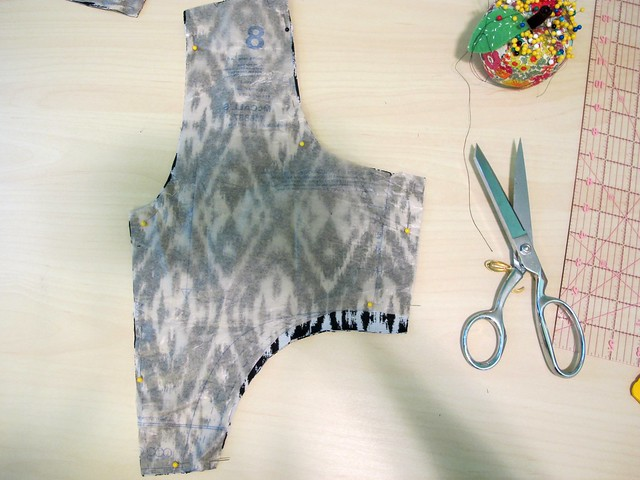 OAL2015 - Cutting the back bodice