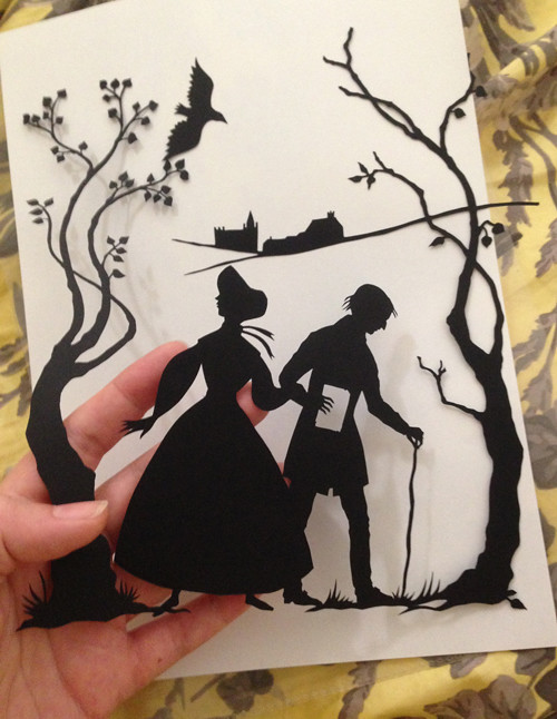 Middlemarch - Original cut paper illustration