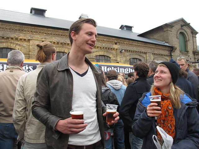 saturday, fourth birthday celebrations for helsingborgs brewery, helsingborg