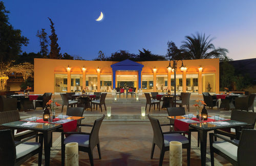 It is located at the Sheraton Heliopolis in Cairo