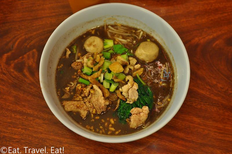 Pa-Ord Noodle #3- Los Angeles (Thai Town), CA: Thai Boat Noodle Soup