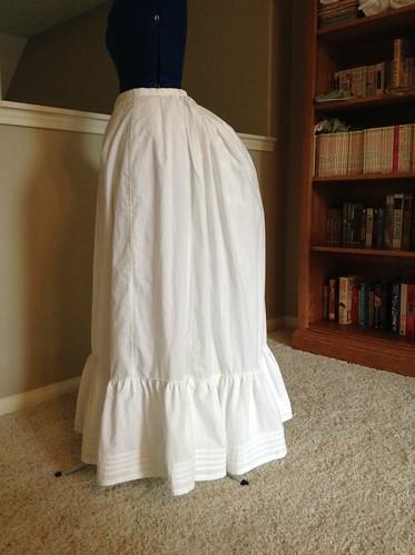 1880's Petticoat