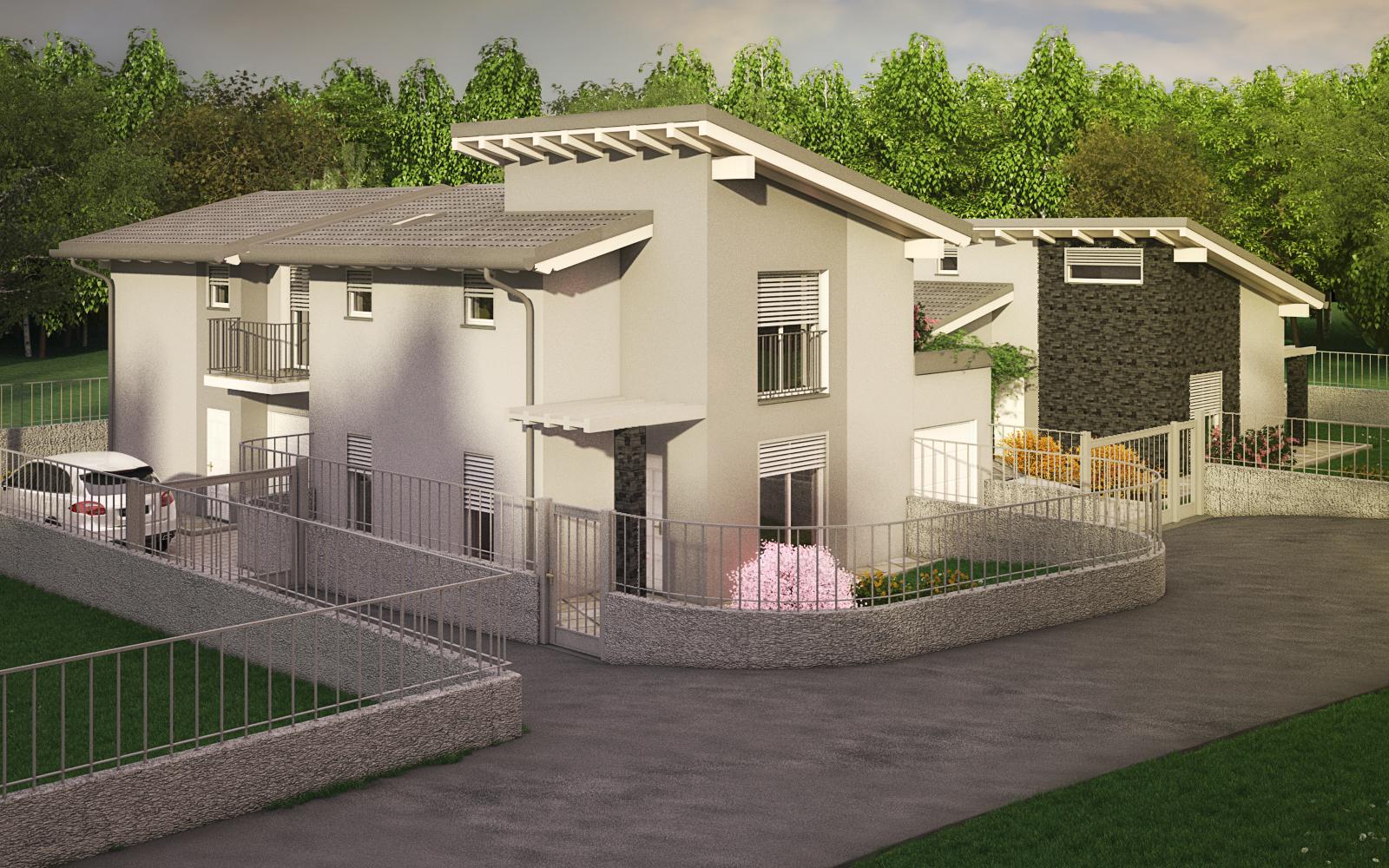 Proposta immobiliare villa bifamiliare ghostbox for Progetto casa ristrutturazione
