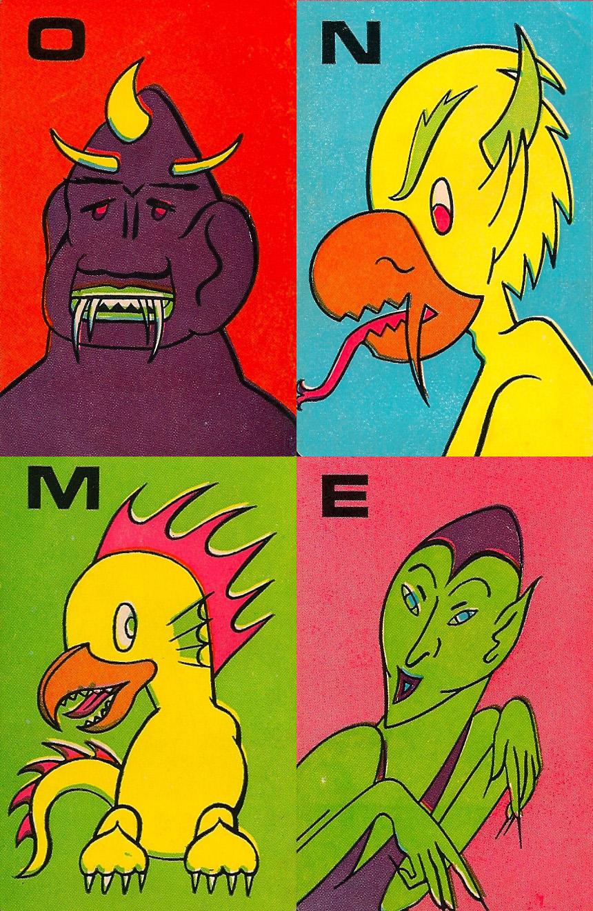 Monster Flip Cards - 7