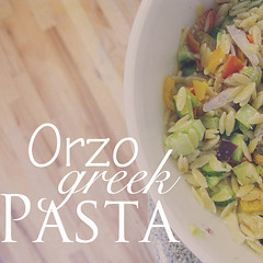 Really yummy Greek Orzo Pasta Recipe