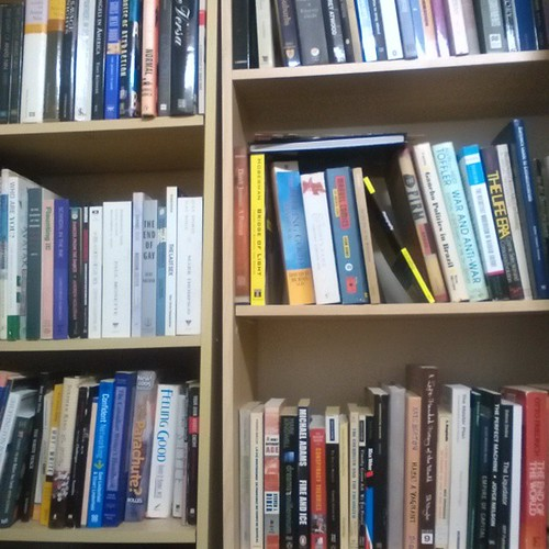 Some of my books on some of my shelves #books #bookshelf