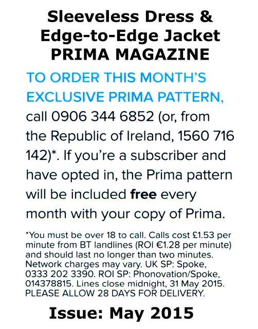 Prima Magazine - Pattern, May 2015 (04)
