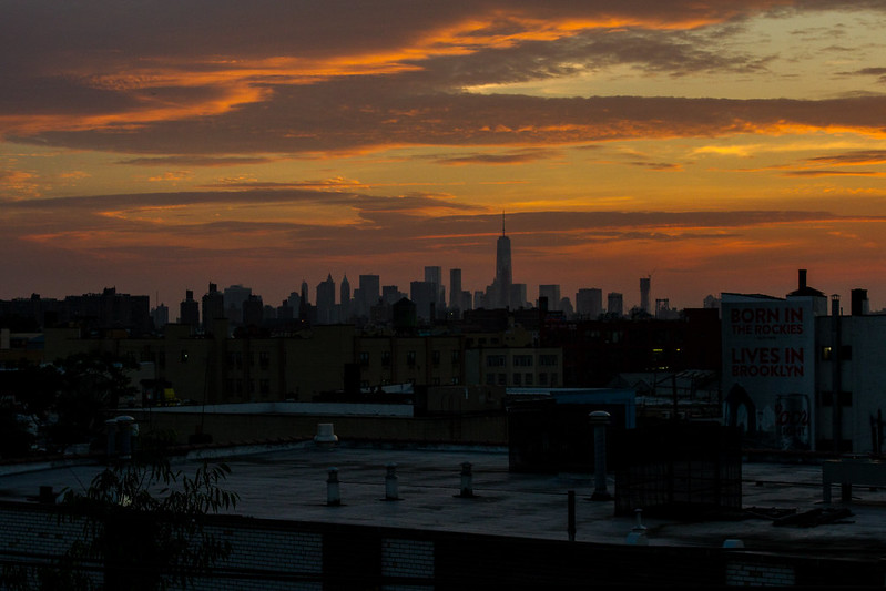 Starr Street Skyline Sunset