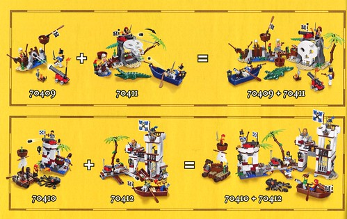 LEGO Pirates 70411 Treasure Island ins06
