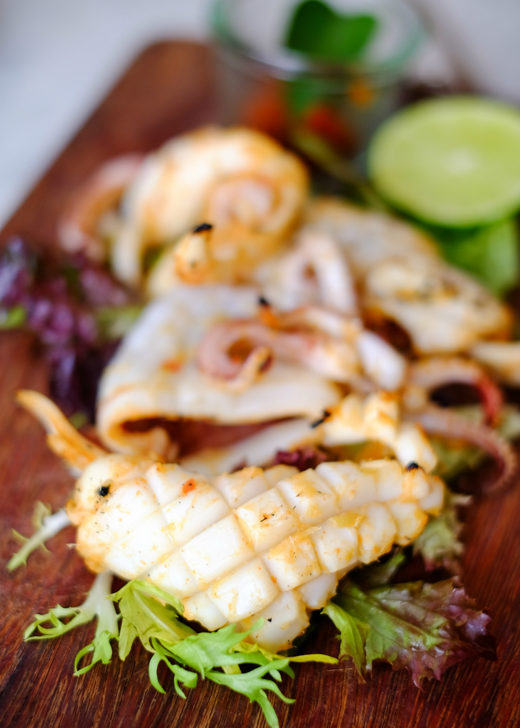 G House: Grilled Spicy Squid