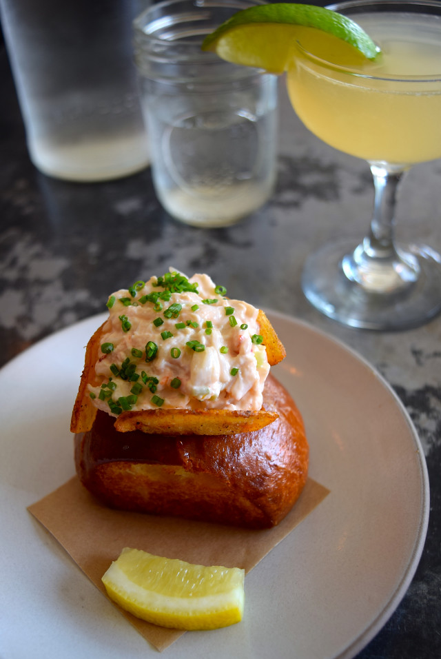Baby Lobster Roll at Son of a Gun, West Hollywood