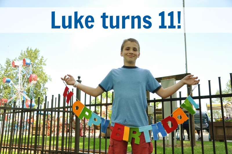 Luke turns 11 @ Mt. Hope Chronicles