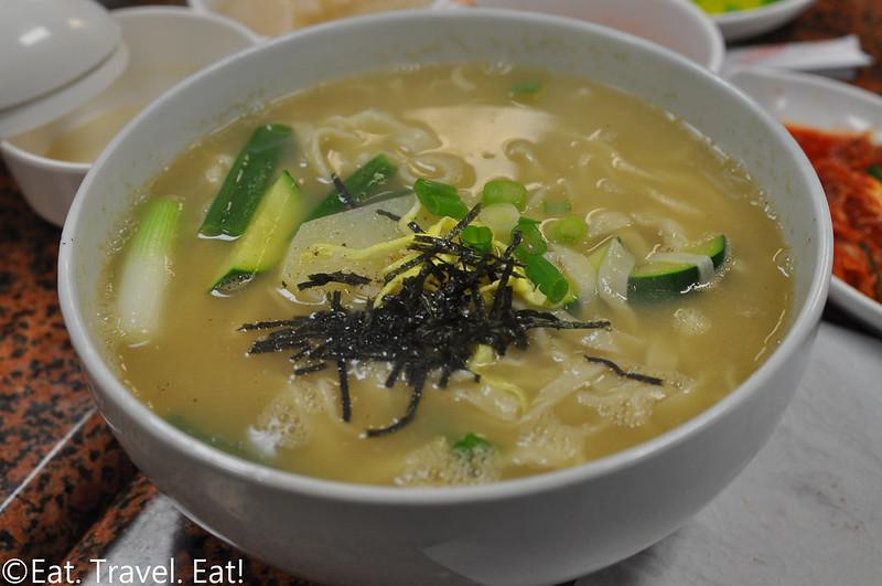 Ma Dang Gook Soo- Los Angeles (Koreatown), CA: Handmade Noodles (Anchovy)