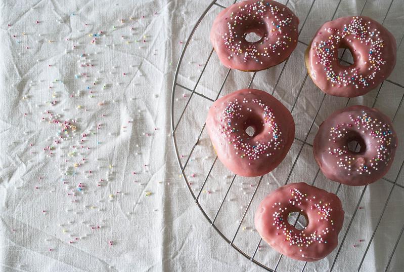 donuts con glaseado