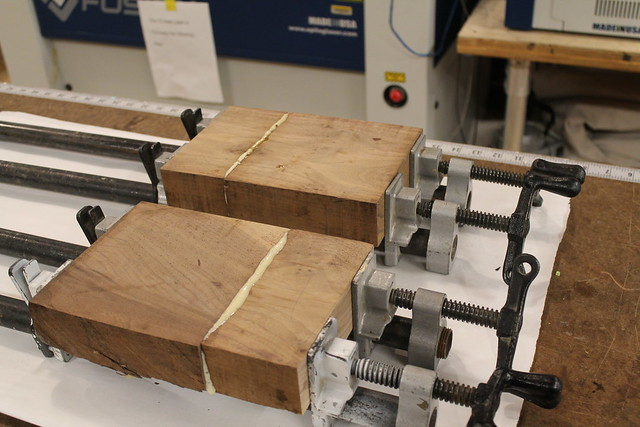 Walnut Glue-ups