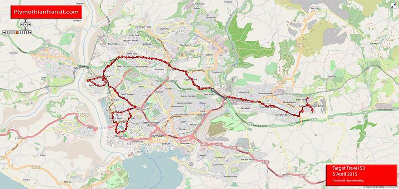 53: Keyham > St Budeaux > Crownhill > Langage