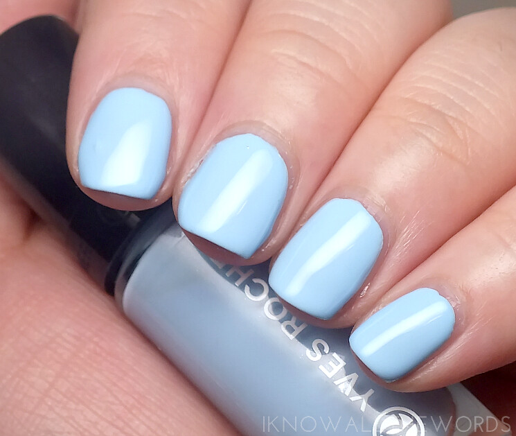 yves rocher summer creation 2015 nail lacquers aqua blue