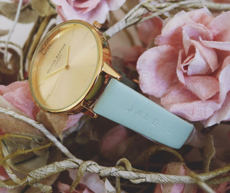 olivia burton watches personalised collection new