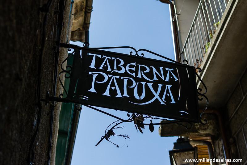 Un clásico de Ribadavia: La taberna Papuxa