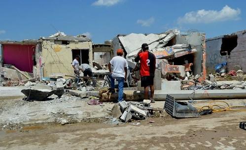 Desalojos en Ciudad Acuña por posibles nuevos tornados