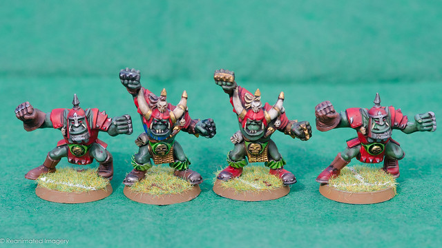 Bloodbowl Orc Team Offense