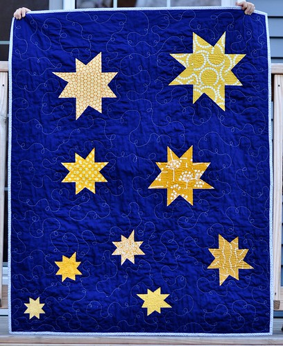 Star quilt for Miles
