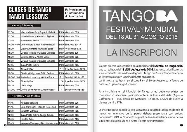Revista Punto Tango 117 Julio 2016 - Tango Magazine 3