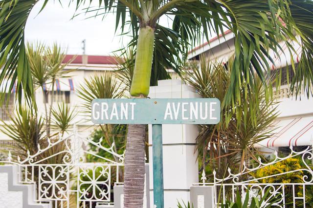 Jamaica street sign