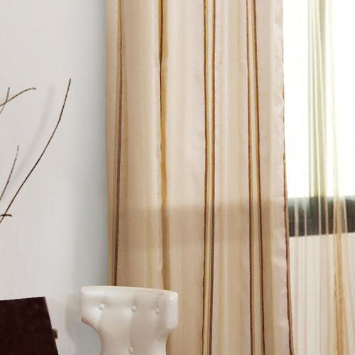 直紋麻布(獨家) 簡約無印風 無接縫窗紗布 DB1890014