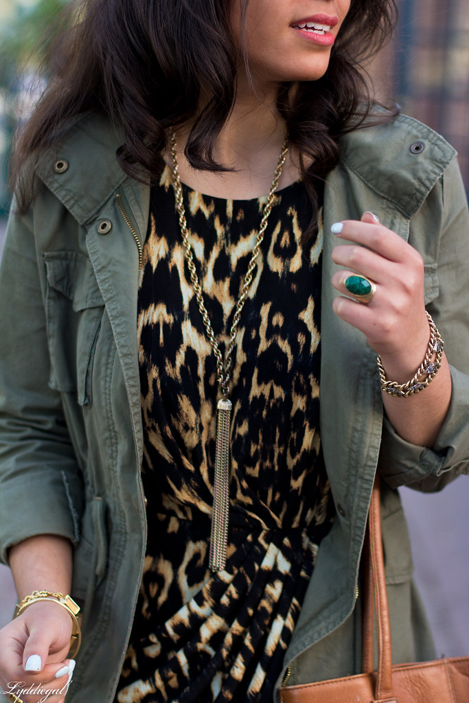 leopard dress, utility jacket, brown leather tote-8.jpg