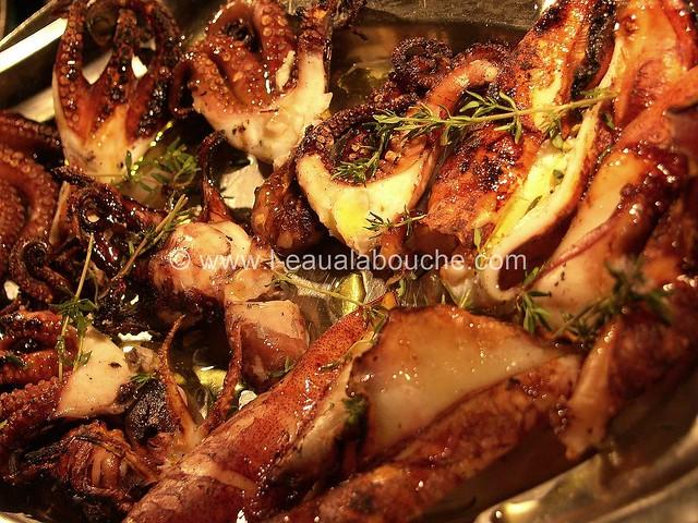 Calamars & Poulpes Grillés sur le Barbecue © Ana Luthi Tous droits réservés 03_GF
