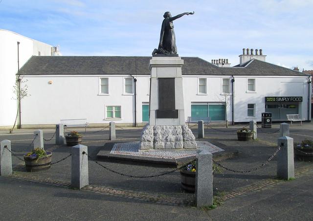 Milngavie War Memorial Side View