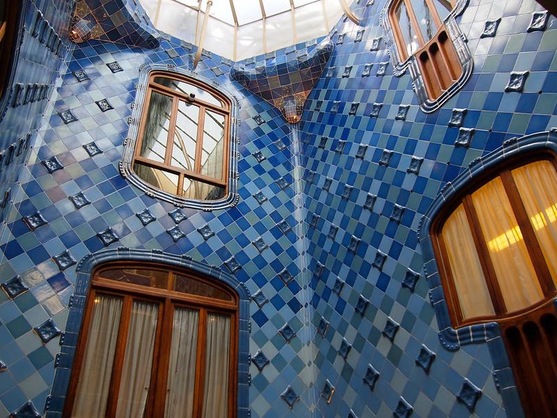 Inside Casa Batllo in Barcelona
