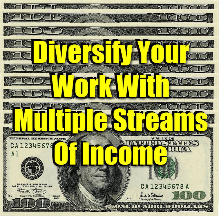 us 100 dollar bill Diversify Your Work With Multiple Streams Of Income tw