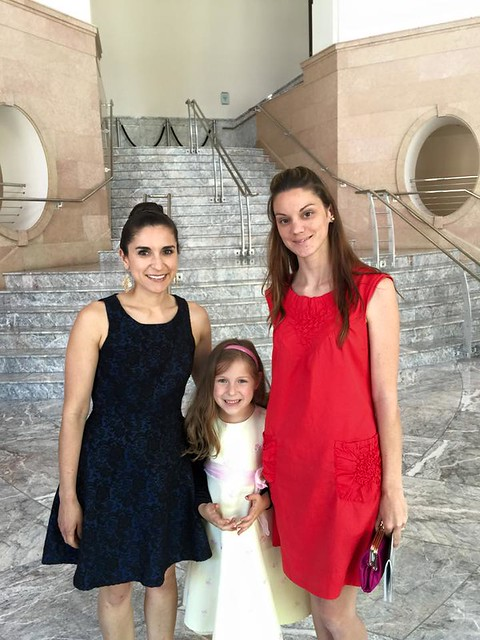 At the Ballet with Cheyenne and Amanda