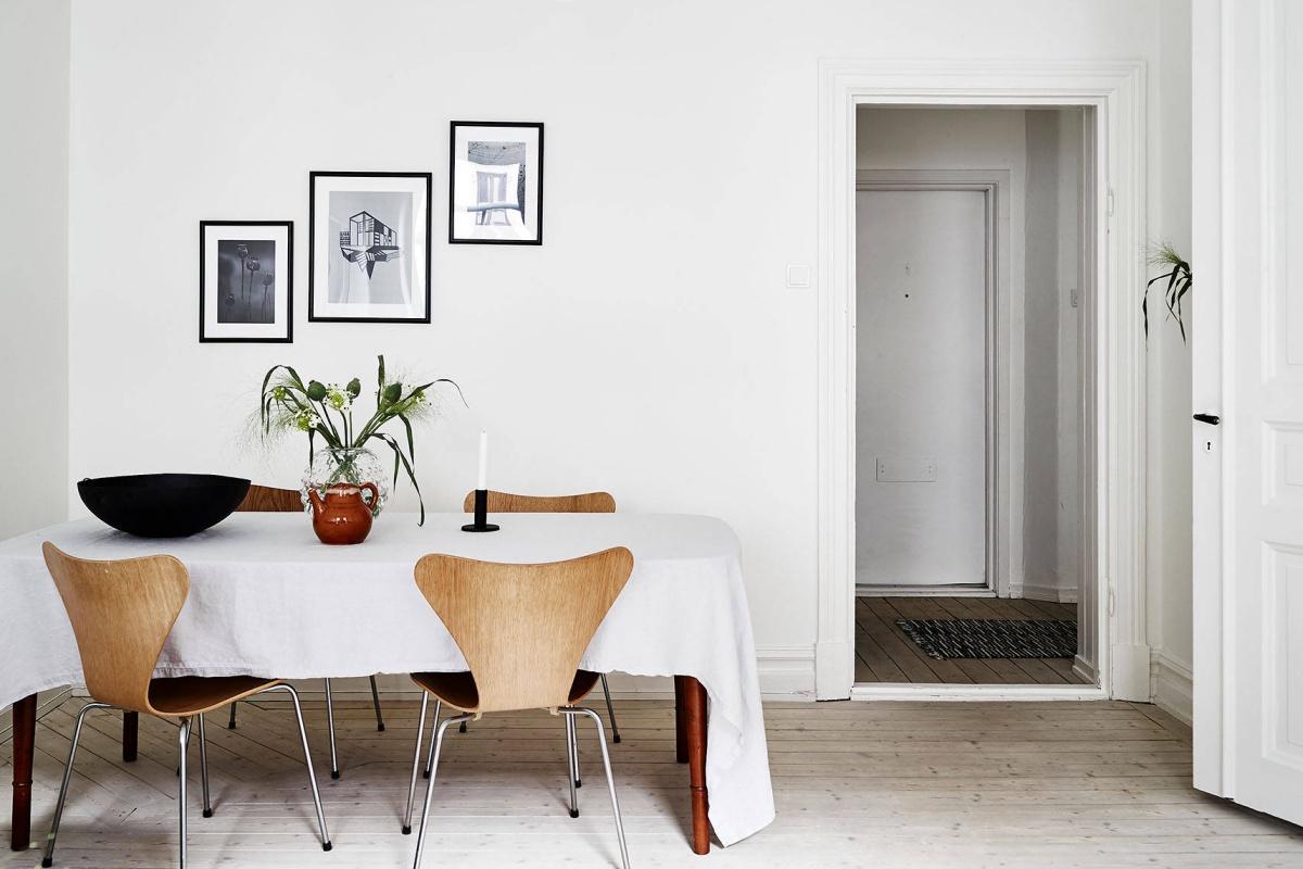 Fresh and Cosy Scandinavian Home