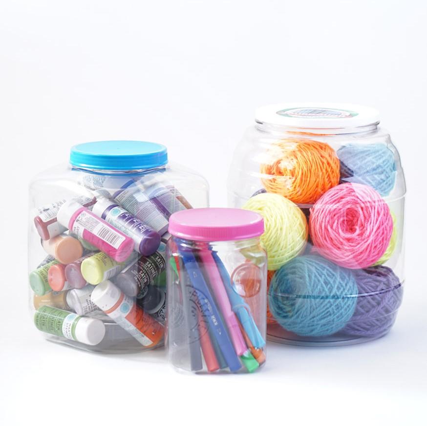 Recycled Craft Storage