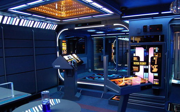 Star Trek Voyager studio apartment