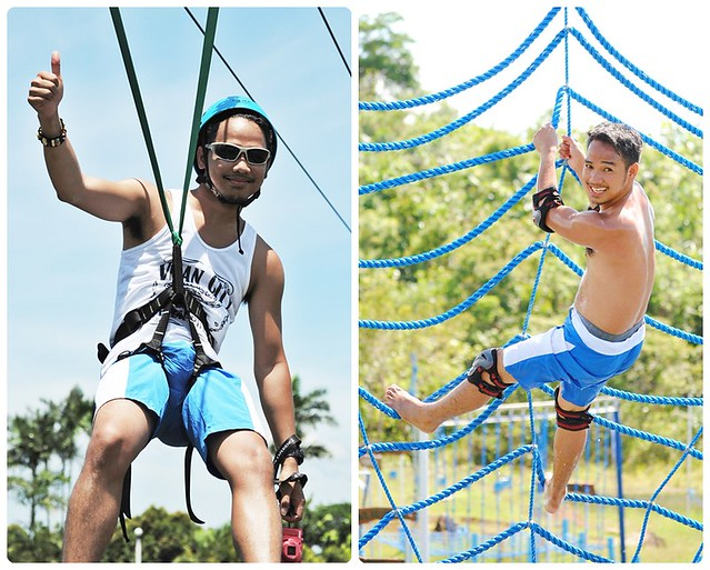 9 Caliraya Mountain Spring Marina Resort - Water Obstacle Course and Zipline
