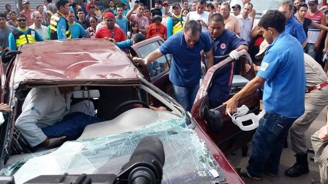 acidente automobilístico em santarém