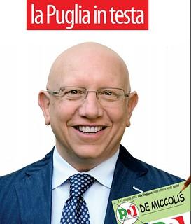 De Miccolis candidato alle elezioni regionali del 31 maggio